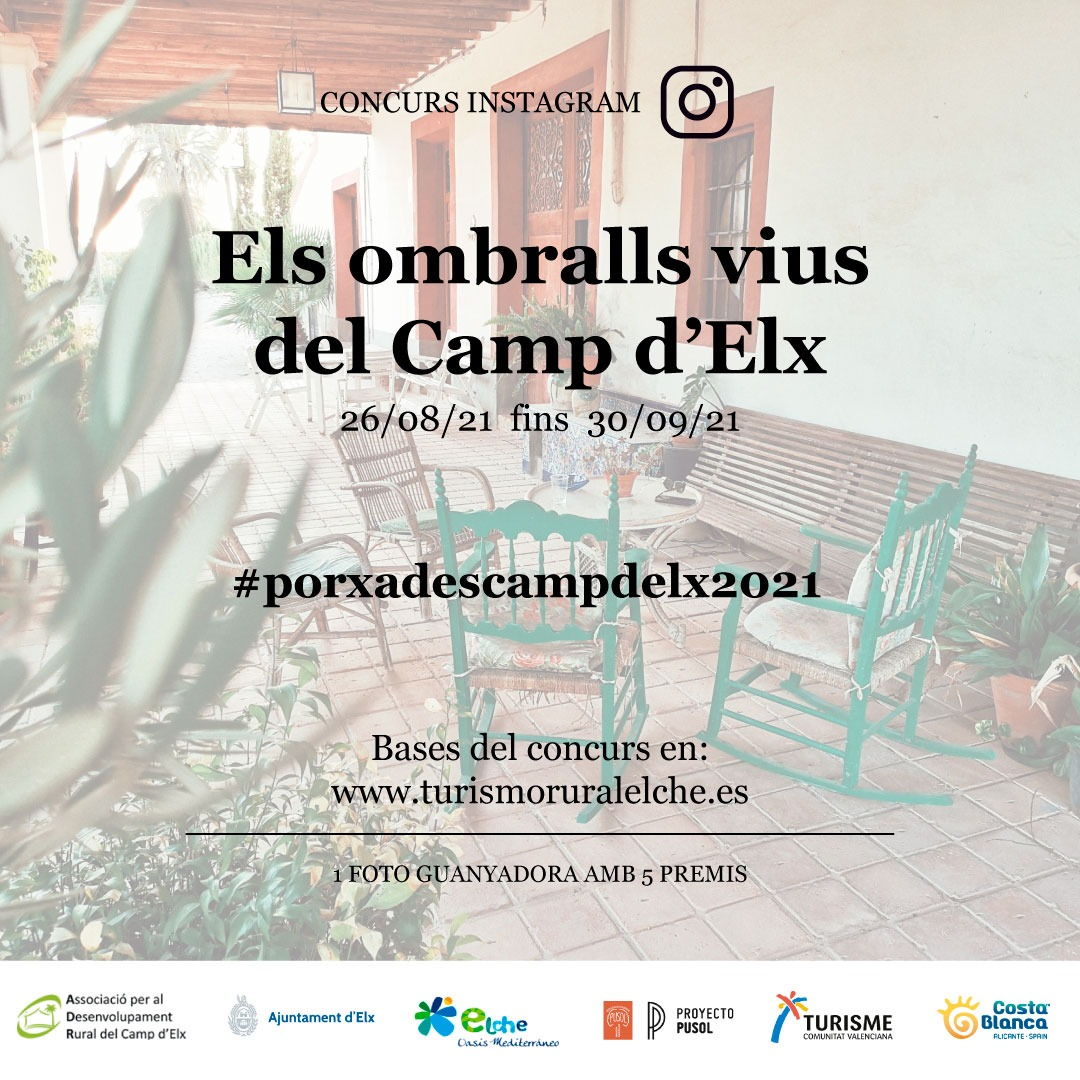 segona edició del concurs d'Instagram #porxadescampdelx2021